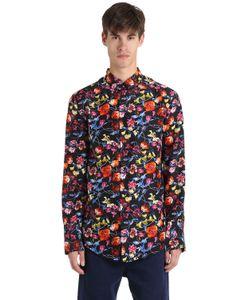 Kenzo | Шелковая Рубашка С Принтом Wild Flower