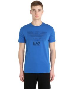 EA7 | Хлопковая Футболка С Логотипом