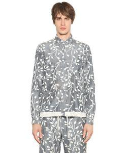 08SIRCUS | Рубашка Из Смешанного Шелка