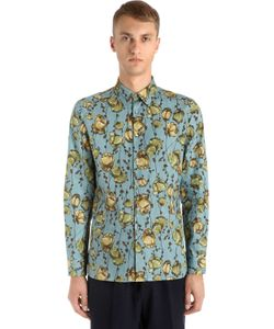 Antonio Marras | Рубашка Из Хлопкового Поплин С Принтом