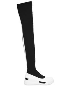 DKNY | 40mm Rowan Neoprene Over The Knee Boots