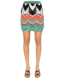 Missoni | Zigzag Viscose Knit Mini Skirt
