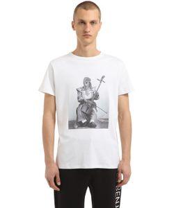 Les Benjamins | Хлопковая Футболка С Принтом Kurt Cobain
