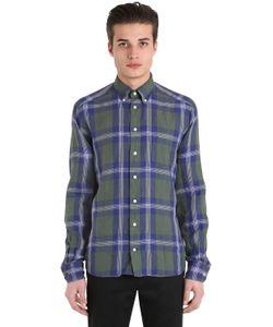 Eton | Хлопковая Рубашка В Клетку Модель Slim Fit