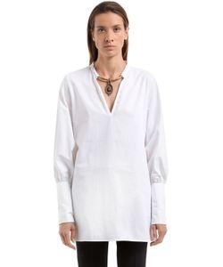 CC BY CAMILLA CAPPELLI | Рубашка Из Поплин С Колье Будда