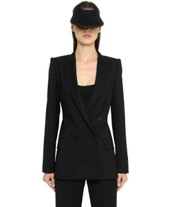 Max Mara | Stretch Cool Wool Silk Crepe Jacket