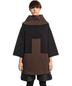 Rick Owens | Geometric Wool Blend Knit Sweater