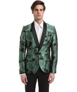 Christian Pellizzari | Куртка Из Жаккарда С Цветочной Вышивкой