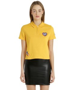 Tommy Hilfiger | Gigi Hadid Cotton Piqué Polo Shirt
