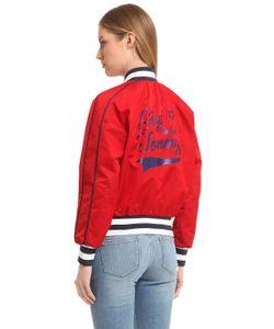 Tommy Hilfiger | Куртка-Бомбер Gigi Hadid Из Нейлона