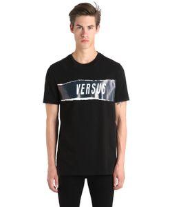 Versus | Футболка Zayn X Из Хлопкового Джерси