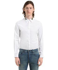 Gucci | Рубашка Из Поплин С Вышивкой Тигры