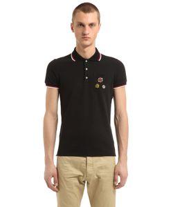 Dsquared2 | Хлопковая Рубашка-Поло Со Значками