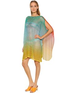 Missoni | Gradient Fishnet Knit Caftan Dress