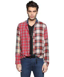 Diesel | Рубашка Из Хлопковой И Вискозной Фланели