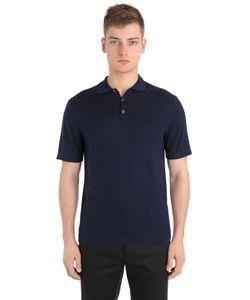 FALKE LUXURY | Рубашка-Поло Из Натуральной Шерсти И Кашемира