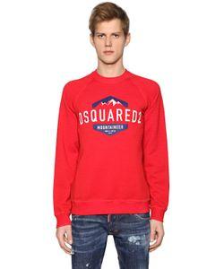 Dsquared2 | Свитшот Из Хлопкового Джерси С Принтом Логотипа