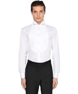 Giorgio Armani | Рубашка Из Поплин С Пластроном