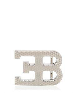 ETTORE BUGATTI COLLECTION   Пряжка С Логотипом Серебряного Цвета