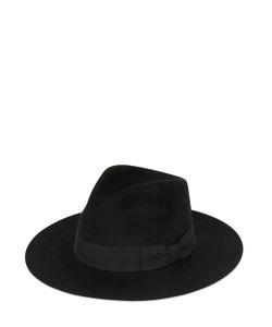 Saint Laurent | Шляпа Из Кроличьего И Заячьего Фетра