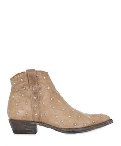 Mexicana | 20mm Star Studded Leather Boots
