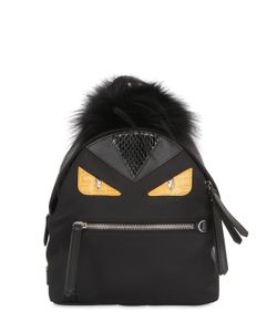 Fendi | Рюкзак Mini Monster С Мехом