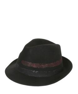 BARBISIO | Шляпа Из Мягкого Шерстяного Фетра