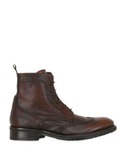 ERNESTO DOLANI | Кожаные Ботинки С Декоративной Строчкой