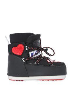 MOON BOOT MSGM | Ботинки Из Нейлона С Нашивками