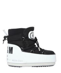 MOON BOOT MSGM | Ботинки Из Нейлона С Логотипом
