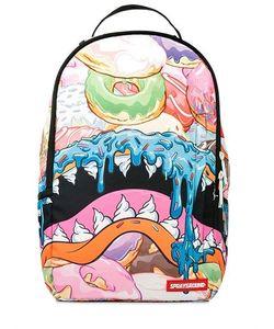 SPRAYGROUND | Рюкзак С Принтом Donut Shark Dlx