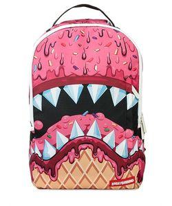 SPRAYGROUND | Рюкзак С Принтом Ice Cream Shark Dlx