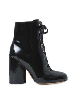 Marc Jacobs | 105mm Tori Brushed Leather Lace-Up Boots