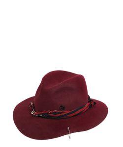 Maison Michel | Шляпа Henrietta Из Кроличьего Фетра