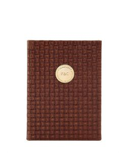 FINE&CANDY | Intersection Woven Leather Notebook