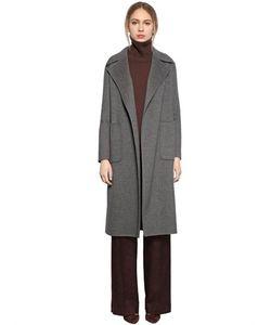 LARUSMIANI | Пальто Из Двойной Шерсти С Поясом