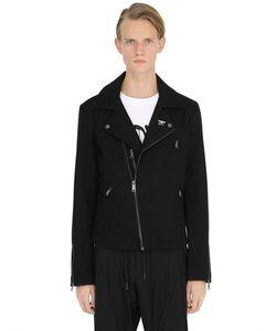 BOY BY BOY LONDON | Шерстяная Куртка В Байкерском Стиле