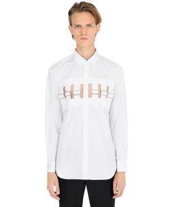 Comme Des Garcons | Рубашка Из Поплин С Декоративными Ремешками