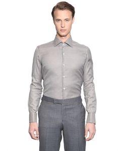 LARUSMIANI | Рубашка Из Поплин Ручная Работа