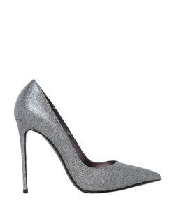 Le Silla | Кожаные Туфли С Блёстками 110mm