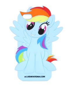 LUISAVIAROMA SPECIAL PROJECTS | Резиновый Чехол My Little Pony Для Iphone 6