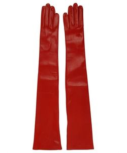 MARIO PORTOLANO | Длинные Перчатки Из Кожи Наппа
