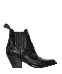 Mexicana   Кожаные Ботинки С Длестящими Звёздами 60mm