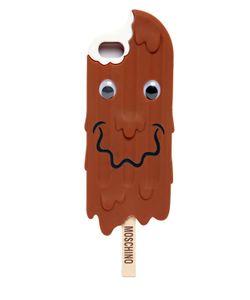 Moschino   Чехол Ice Cream Из Силикона Для Iphone 5