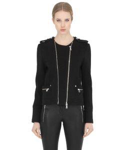 Pierre Balmain | Куртка Из Плотного Хлопкового Джерси