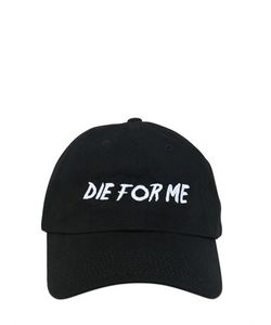NASASEASONS | Die For Me Embroidered Baseball Hat