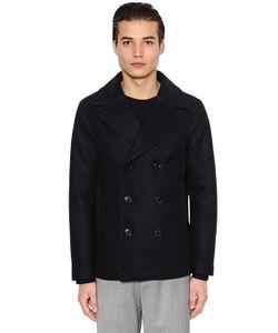 Emporio Armani | Шерстяное Пальто Со Стёганой Подкладкой