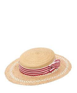 KREISI COUTURE | Соломенная Шляпа-Канотье Eli