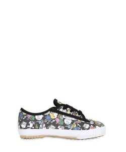 Feiyue | Peanuts Print Cotton Canvas Sneakers