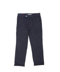 NUPKEET | Polka Dot Cotton Poplin Chino Pants
